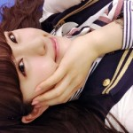 NMB48 渋谷凪咲 握手会でワオ!ワオワオ!「NMB48学園」