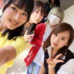 NMB48久代梨奈 高校の文化祭に木下百花と三田麻央が来たエピソード「TEPPENラジオ」