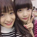 NMB48清水里香 NGT48荻野由佳と仲が良い!仲良くなったきっかけは?「SHOWROOM」